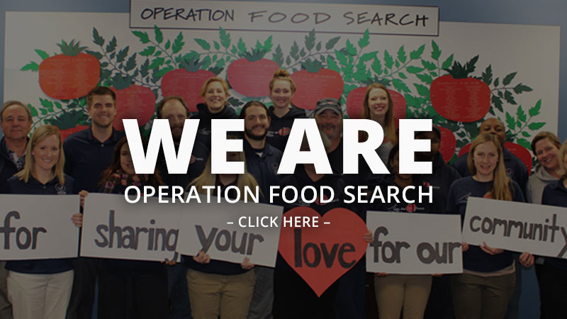 We are operation food search