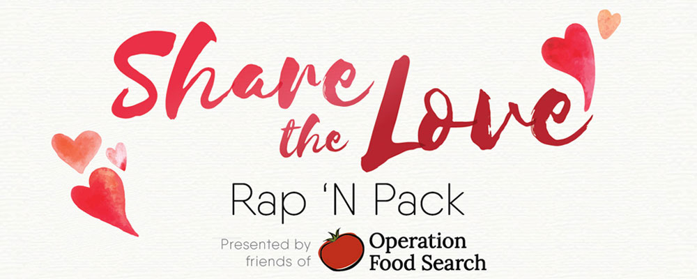 Share The Love Rap 'N Pack @ Operation Food Search | St. Louis | Missouri | United States
