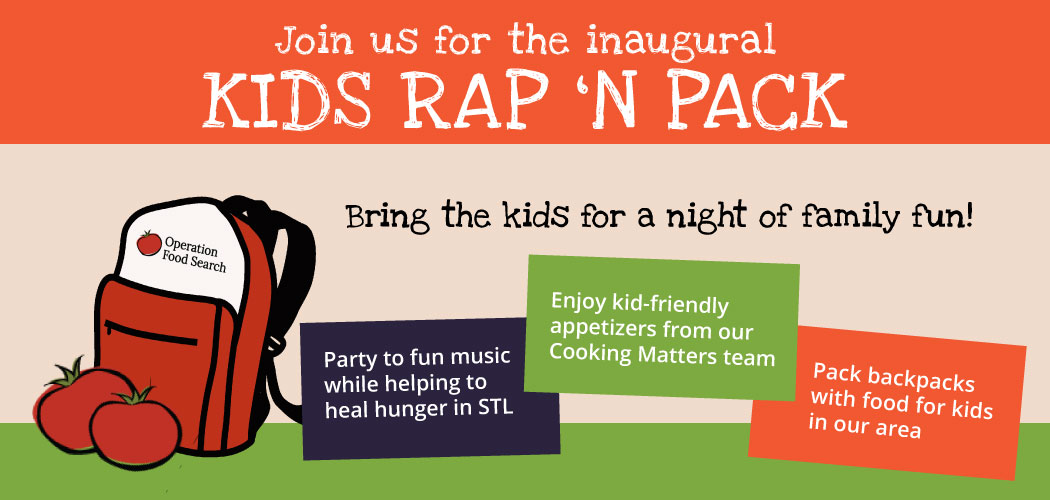 Kids Rap 'N Pack @ Operation Food Search | St. Louis | Missouri | United States