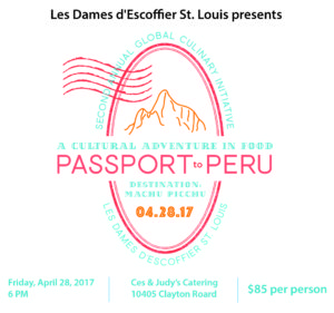 Passport to Peru @ Ces and Judy's Catering | Frontenac | Missouri | United States