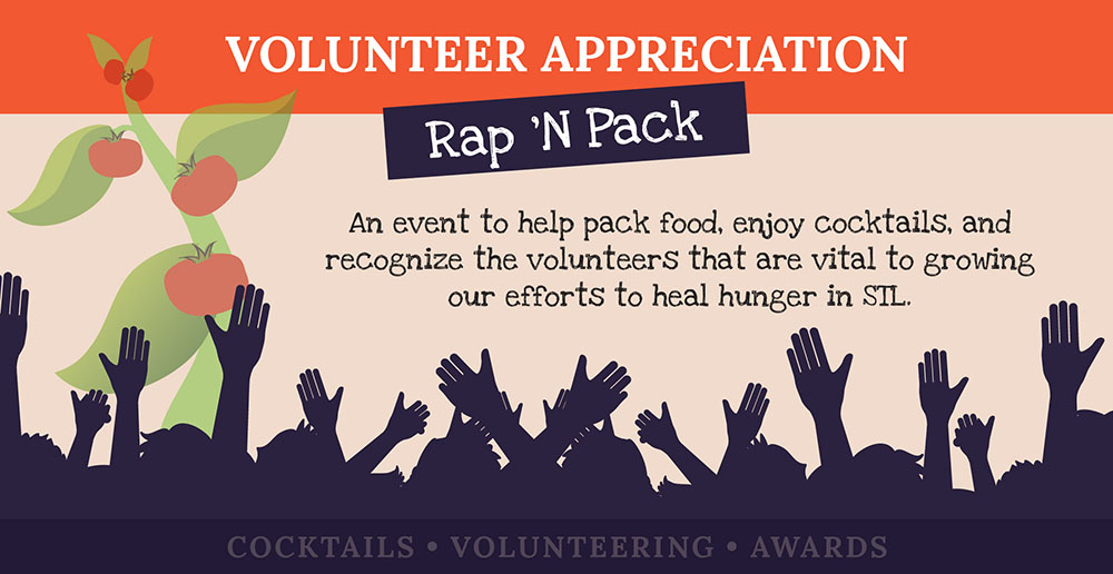 Volunteer Appreciation Rap 'N Pack @ Operation Food Search | St. Louis | Missouri | United States