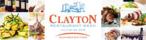 Clayton Restaurant Week Summer Edition