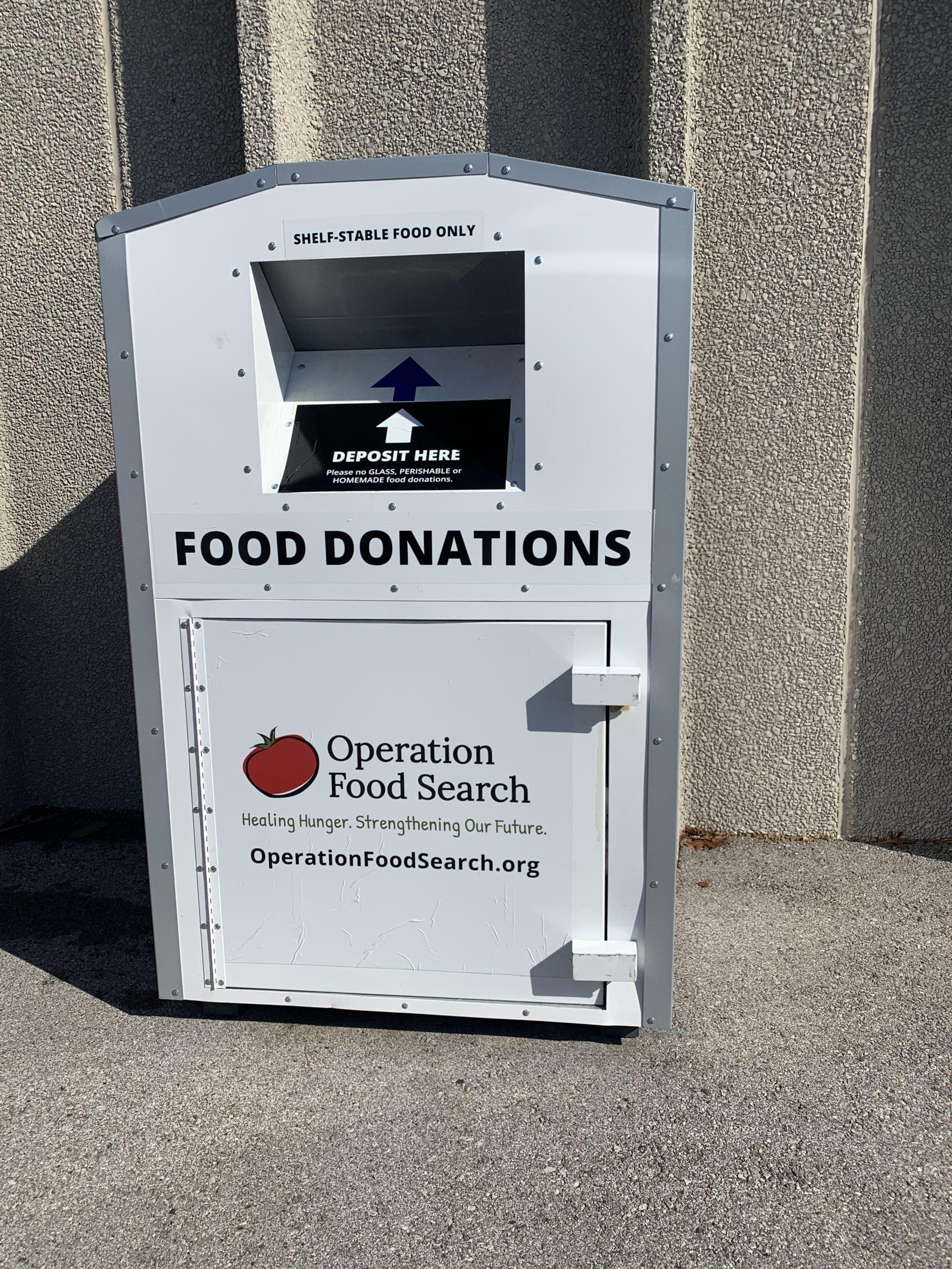 OFS food donation box