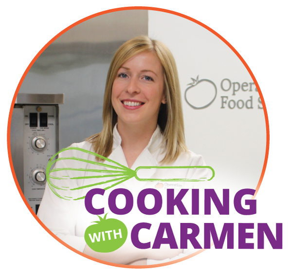 Cooking with Carmen virtual class