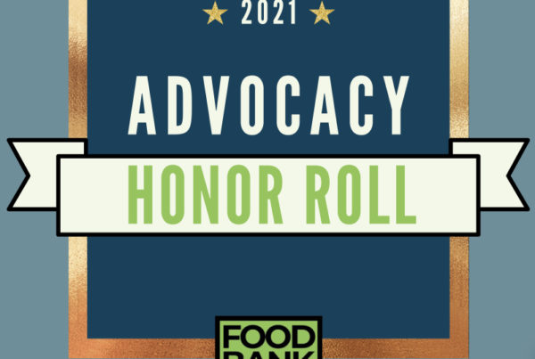 Advocacy Honor Roll poster